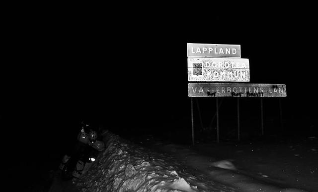 Entering Lapland