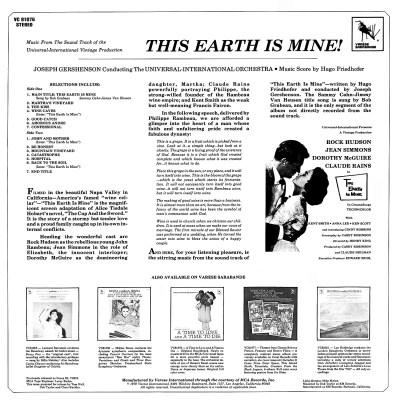 Hugo Friedhofer - This Earth Is Mine b