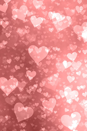 iPhone Background - Hearts