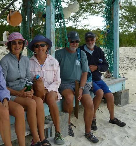 beach team - Compass Cay
