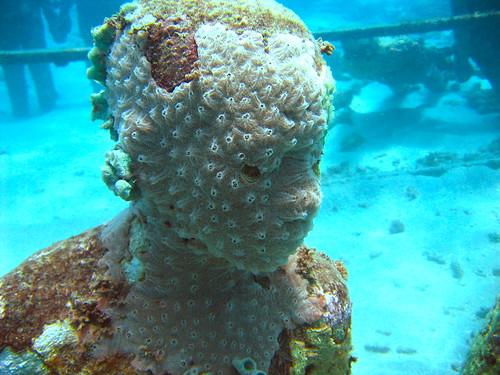 Underwater sculpture by michaelb1