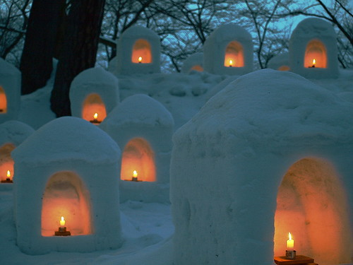 Kamakura Candle  基本形的燭光