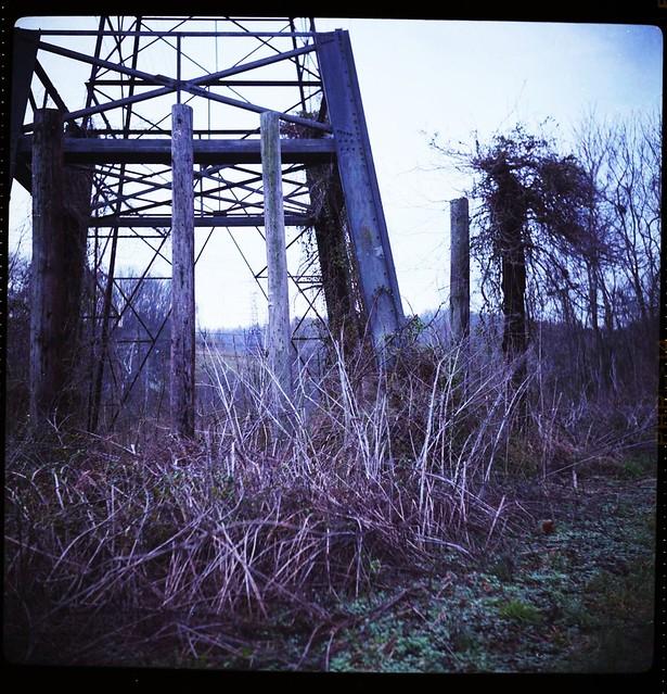 Old Power Line Platform