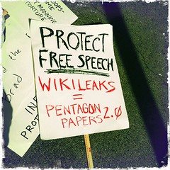 Protect Free Speech Wikileaks = Pentagon Papers 2.0 HIP_322341551.339966