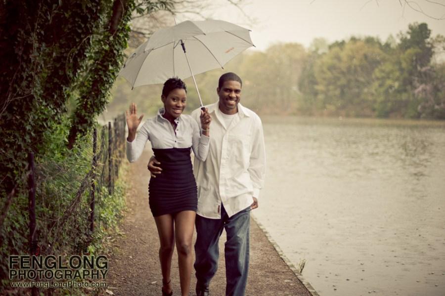 Rita & Andre Engagement Session in Piedmont Park [Atlanta Wedding Photographer]