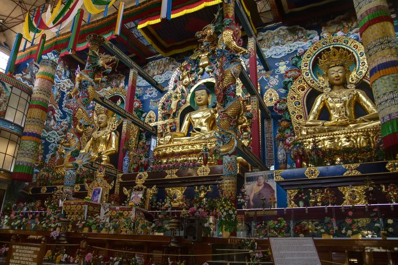 Buddhist Monastery, Coorg