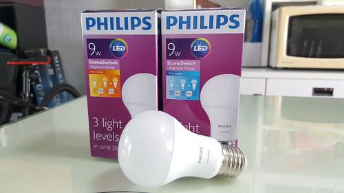 หลอดไฟ LED แบบไฟสามระดับของ Philips