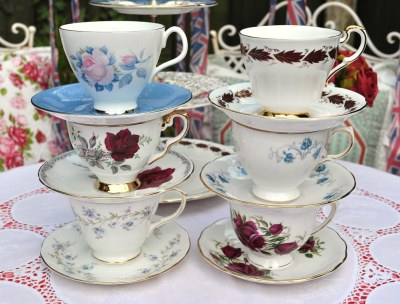 Vintage Tea Set for the Royal Wedding