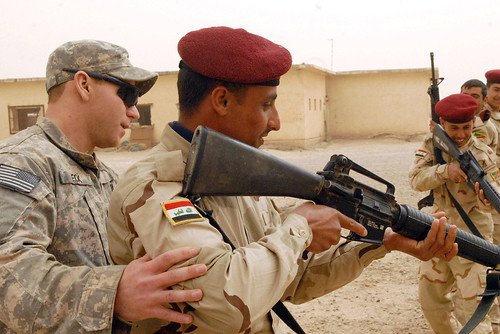 Training in Iraq