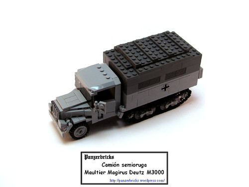 Maultier Magirus Deutz M3000 de Panzerbricks