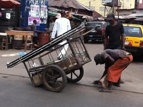 Omolanke Operator - Isale Eko Lagos Island Nigeria by Jujufilms