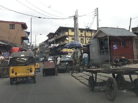 Isale Eko, Lagos Island, Nigeria. by Jujufilms