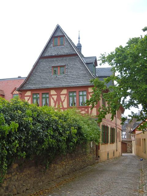 oldest cobblestones in Eltville, Germany