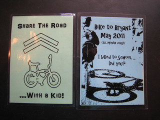 Bike to School Month Spoke Card