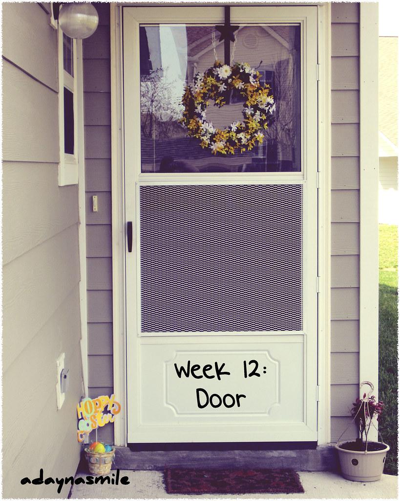 Week 12 Door