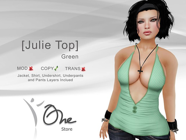 [Julie Top] Green