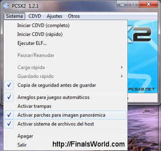 Widescreen Final Fantasy X PCSX2