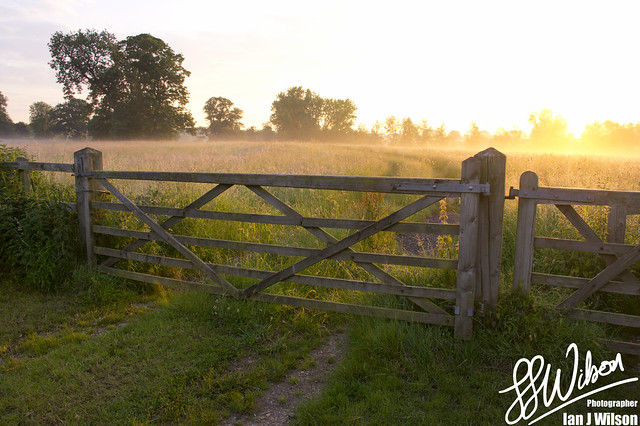 Gate at Dawn – Daily Photo (28th June 2012)