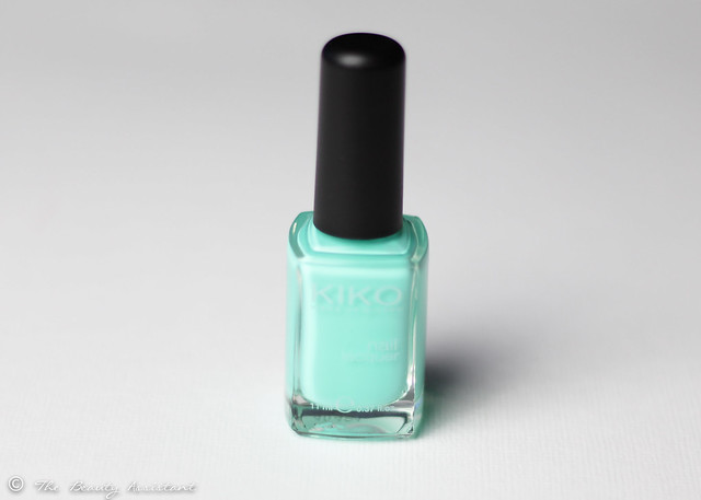 Kiko nailpolish mint milk