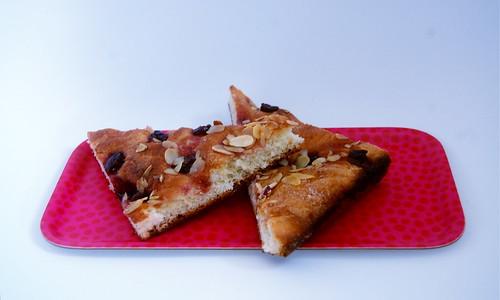 Cherry Almond Foccacia