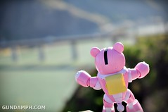 Pink Bearguy at Vigan Bridge
