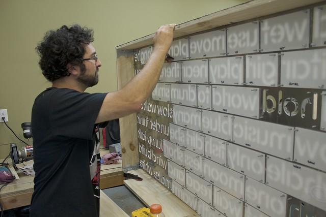Word Wall - Ben Marking Words