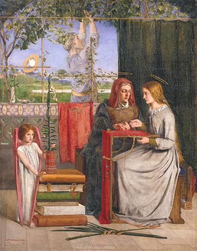 Dante Gabriel Rossetti, L'Enfance de la Vierge