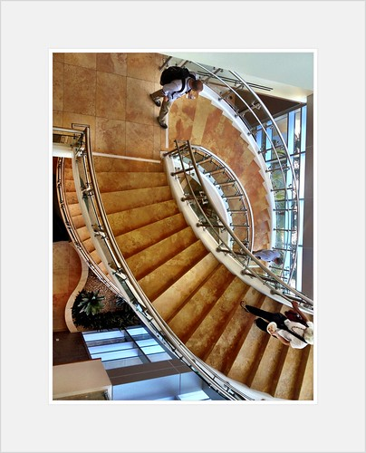 Stairway at TJSL