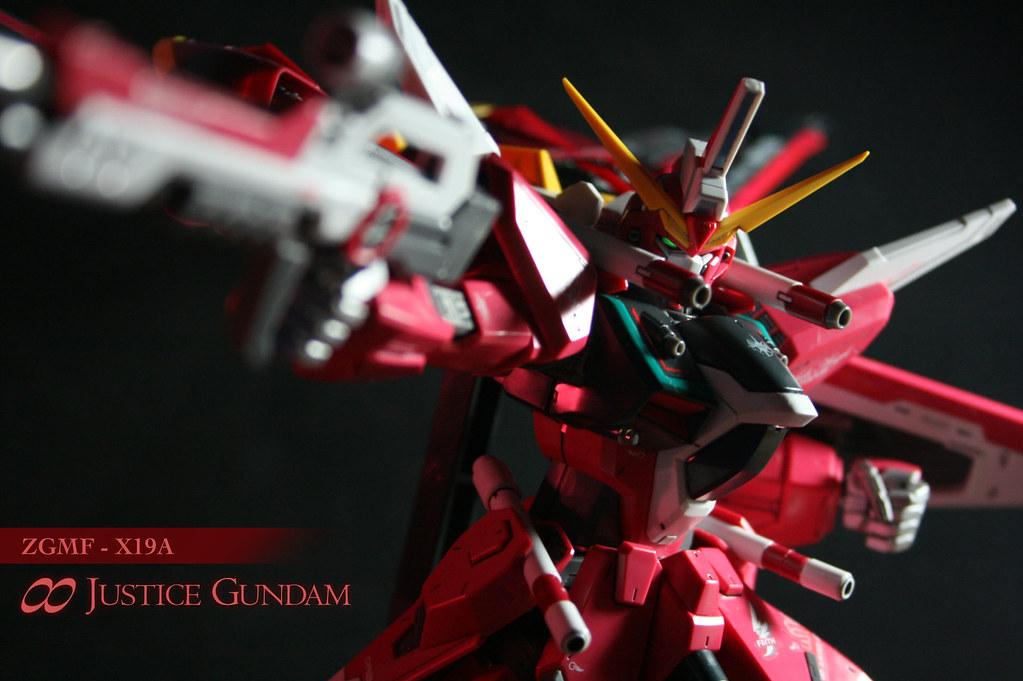 ZGMF-X19A ∞ Justice Gundam