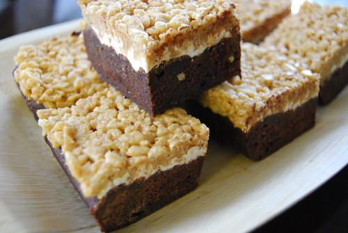 Nutter Fluffer Brownies