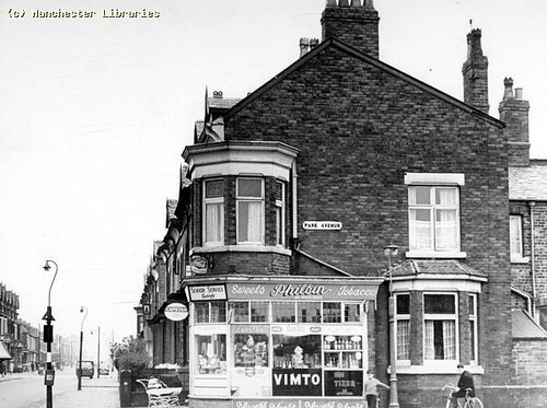 Claremont Road, Moss Side, 1962