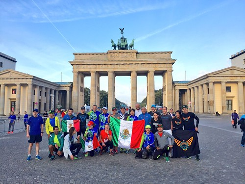 Mexicanos en Berlin - Mexican Run 2016