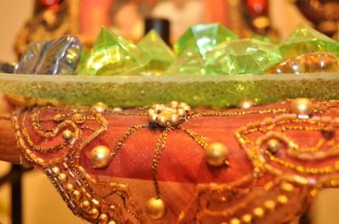 Multi-colored gemstones