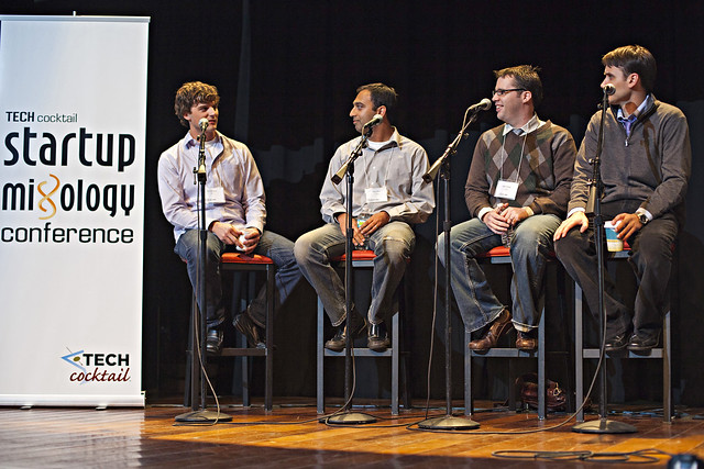 Funding Panel Startup Mixology Conference
