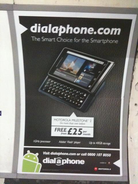 Android marketing fail