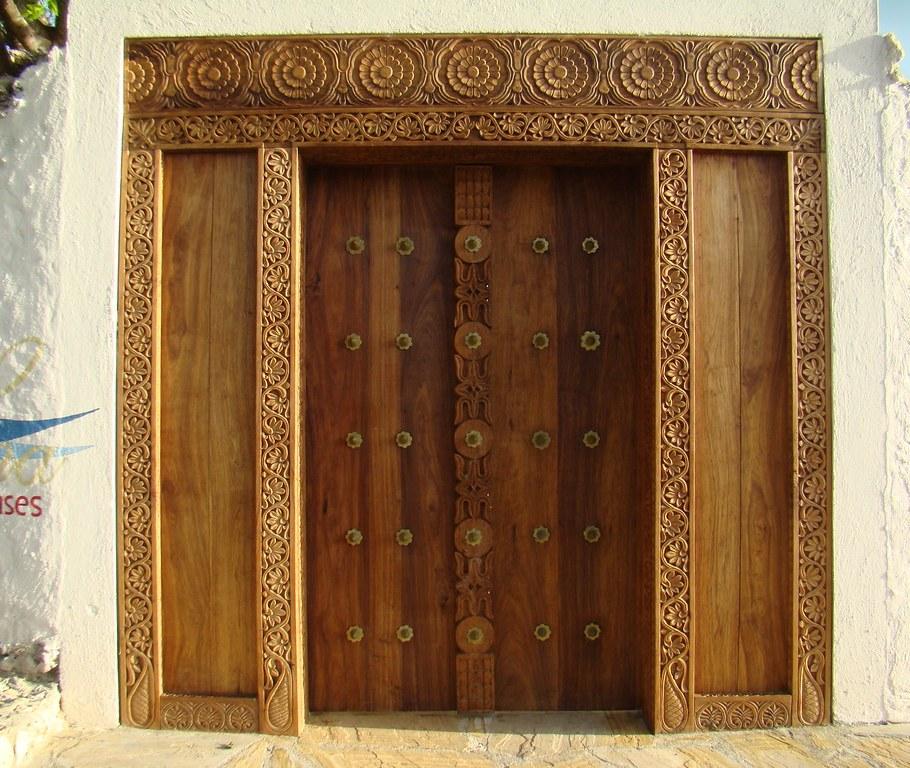 puertas Stone Town Zanzibar Islas Tanzania 18