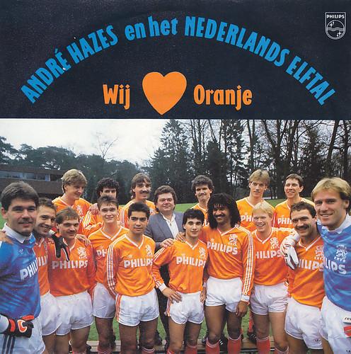 André Hazes en het Nederlands elftal: Wij houden van Oranje