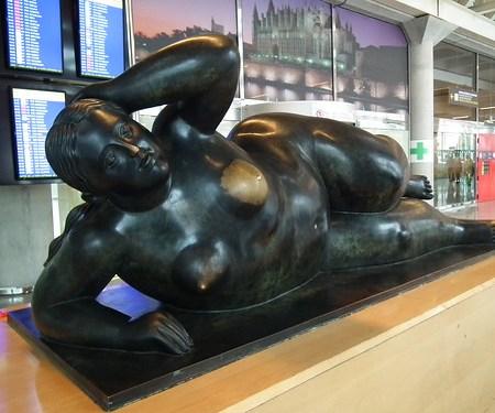 esculturas en la calle Palma de Mallorca 28