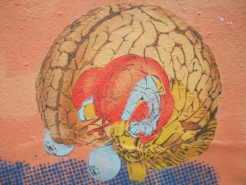 Dotmasters: Nice brain - London graffiti