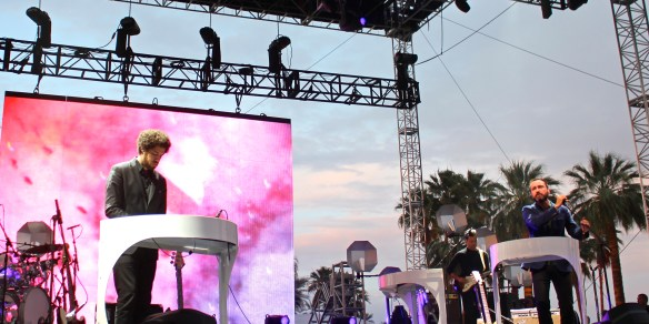 Broken Bells at Coachella 2014 on Stage