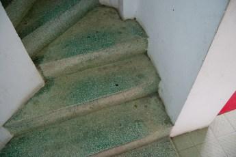 Treppe zur Toilette 1
