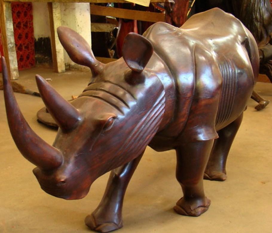 Kenia expresiones artisticas y culturales en madera 16