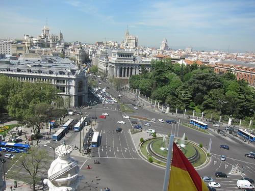 CentroCentro. Palacio de Cibeles, Mirador. Madrid