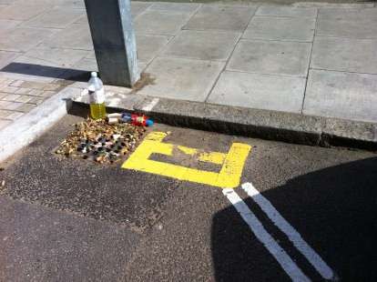 The smallest place not to park