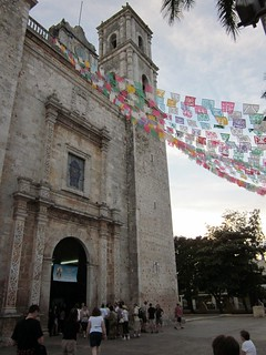san pablo church, valladolid, mexico