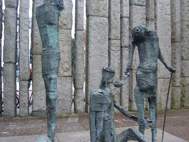 Famine Victims Memorial, Dublin