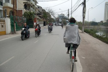 Cornelia fährt Rad - Sequenz