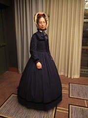 1860s Wool Day Dress