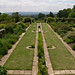 Long pool in the formal garden