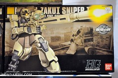new haul april 21 2012 hg zaku sniper